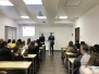 """Leksion i hapur pranë Kolegjit Universitar Luarasi, me temë """"Skema e sigurimit të depozitave në Shqipëri, ASD, roli dhe funksionet e saj"""""""